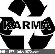 Karma- significa la  ley de causa y efecto